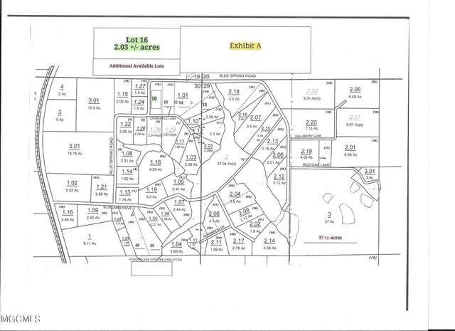 Lot 16 Crabapple Ln, Lucedale, MS 39452 (MLS #378316) :: The Sherman Group