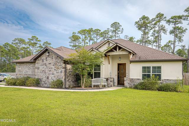 6401 Palmetto Pointe Dr, Ocean Springs, MS 39564 (MLS #378737) :: The Sherman Group