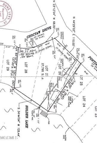 15064 Choctaw Dr, Kiln, MS 39556 (MLS #378959) :: The Sherman Group