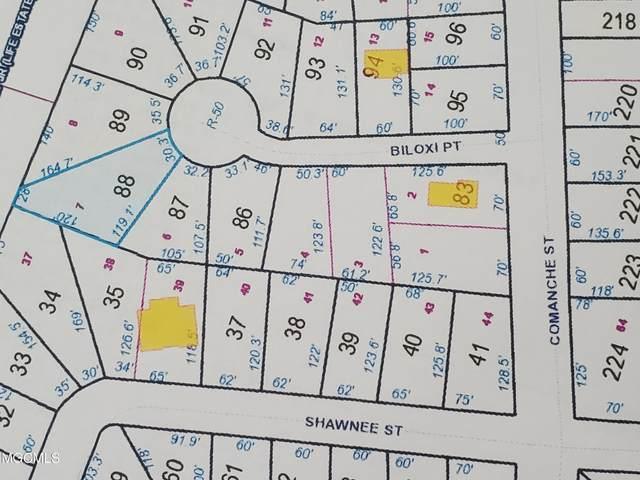Lot 7 Biloxi Pt, Kiln, MS 39556 (MLS #379341) :: The Sherman Group