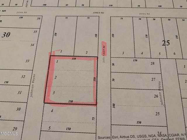 Lots 1-3 Judy Ave, Pass Christian, MS 39571 (MLS #379663) :: The Sherman Group