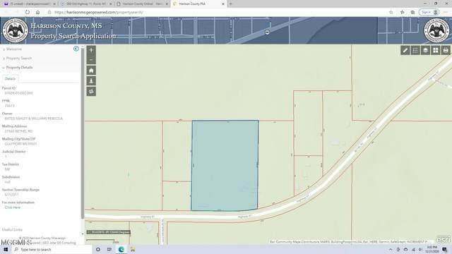 6.90ac Bethel Rd, Saucier, MS 39574 (MLS #380081) :: Biloxi Coastal Homes
