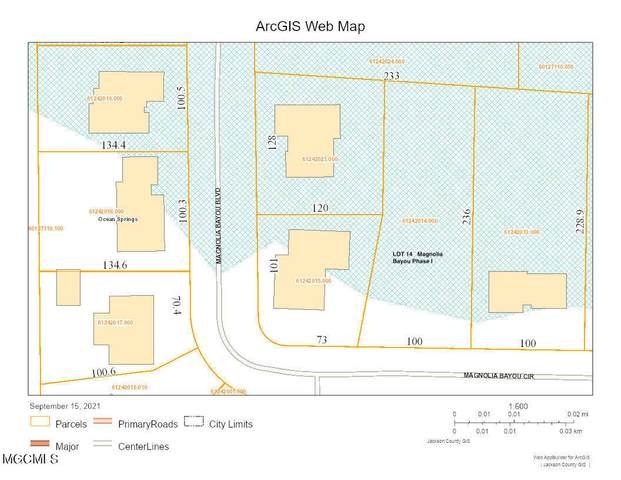 Lot 14 Magnolia Bayou Blvd, Ocean Springs, MS 39564 (MLS #380094) :: The Sherman Group