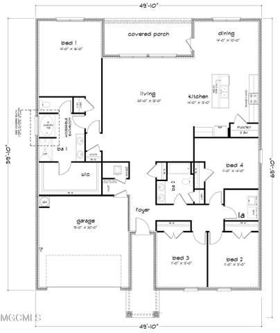 202 Hawthorne Dr, Long Beach, MS 39560 (MLS #380162) :: Berkshire Hathaway HomeServices Shaw Properties