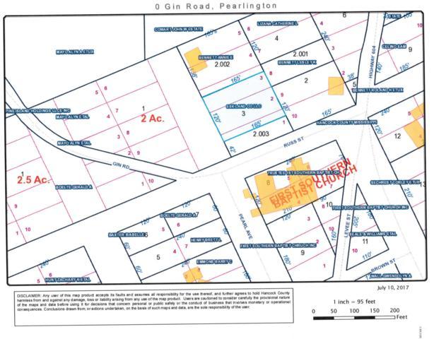 0 Gin Rd, Pearlington, MS 39572 (MLS #322864) :: The Demoran Group of Keller Williams
