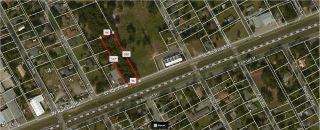00 Railroad St, Gulfport, MS 39501 (MLS #325102) :: Amanda & Associates at Coastal Realty Group