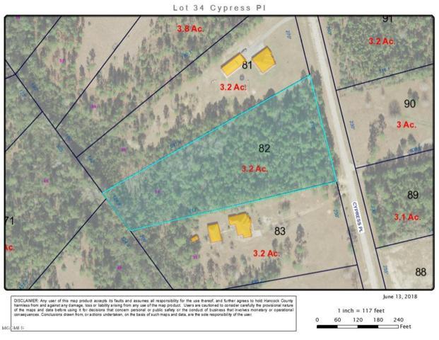 0 Cypress Pl Lot 34, Perkinston, MS 39573 (MLS #335495) :: Amanda & Associates at Coastal Realty Group