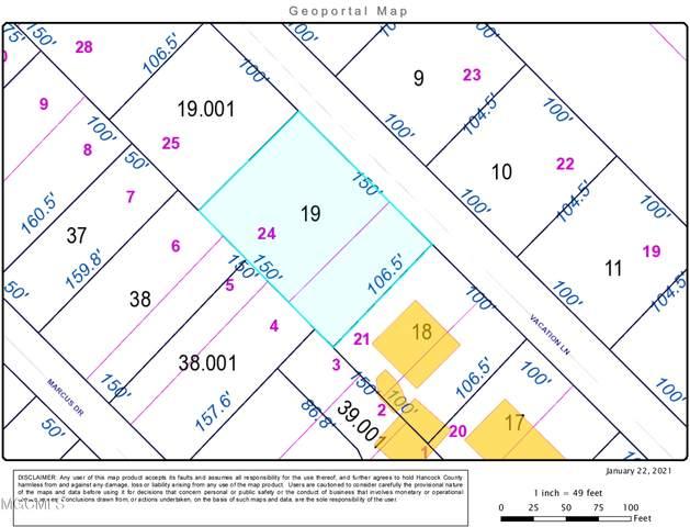 0 Vacation Ln, Waveland, MS 39576 (MLS #370448) :: Coastal Realty Group