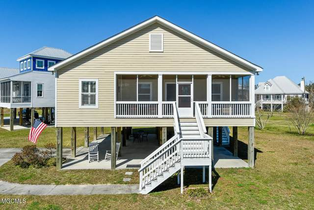 110 Whispering Pines Dr, Waveland, MS 39576 (MLS #371843) :: The Sherman Group