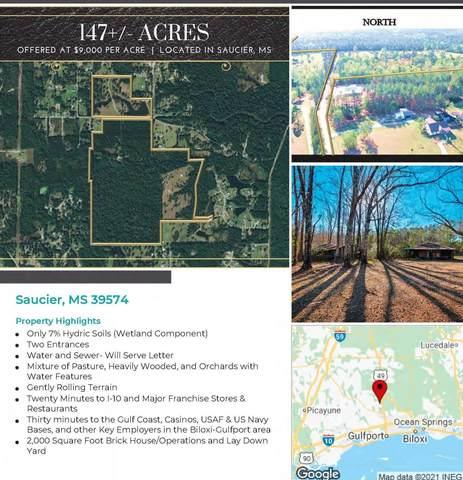 18342 Bert Dedeaux Rd, Saucier, MS 39574 (MLS #374808) :: Berkshire Hathaway HomeServices Shaw Properties