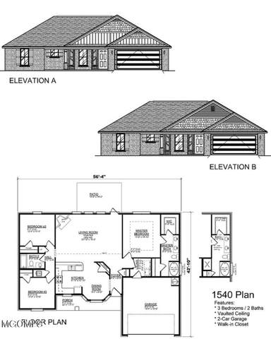 Lot 98 Field Crest Way, Gulfport, MS 39503 (MLS #369278) :: Dunbar Real Estate Inc.