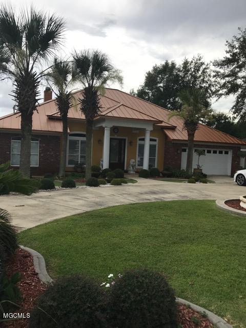 3543 N River Ridge Dr, D'iberville, MS 39540 (MLS #322676) :: Amanda & Associates at Coastal Realty Group