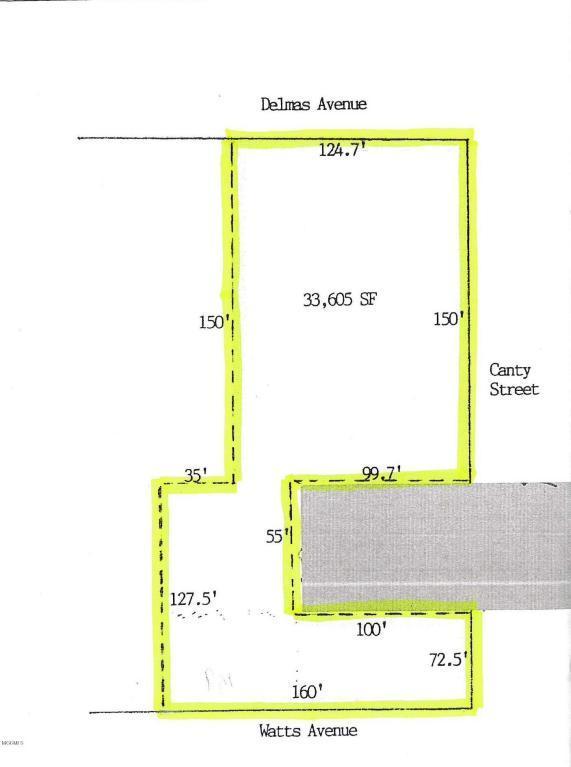650 Delmas Ave, Pascagoula, MS 39567 (MLS #322987) :: Amanda & Associates at Coastal Realty Group