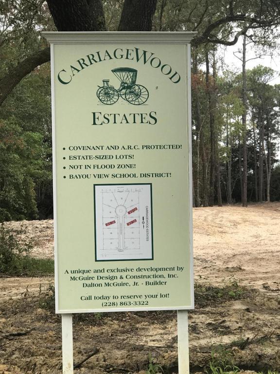 Lot 8 Carriagewood Dr, Gulfport, MS 39503 (MLS #324903) :: Amanda & Associates at Coastal Realty Group