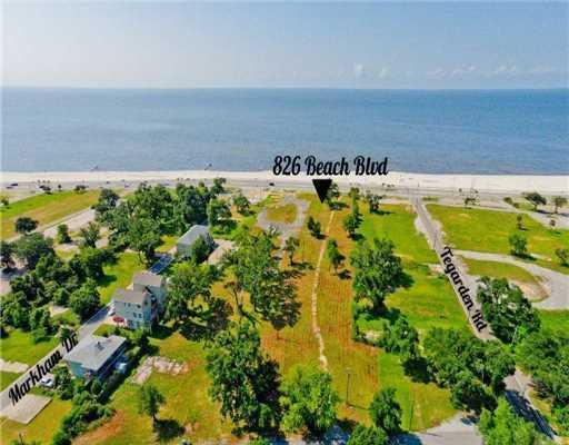 826 Beach Dr, Gulfport, MS 39507 (MLS #327184) :: Amanda & Associates at Coastal Realty Group