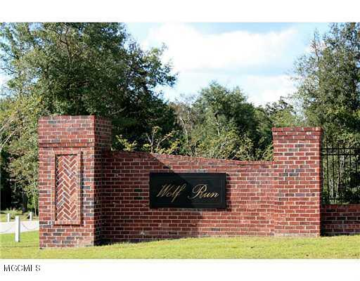 0 Wolf Run Blvd Lot 1, Gulfport, MS 39503 (MLS #337797) :: Amanda & Associates at Coastal Realty Group