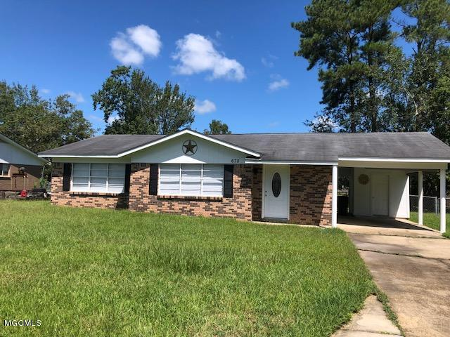 678 Atwood Dr, D'iberville, MS 39540 (MLS #338848) :: Sherman/Phillips