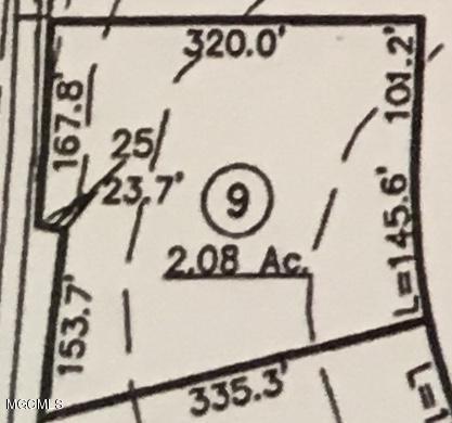 Lot 9 Menge / Interstate 10, Pass Christian, MS 39571 (MLS #339931) :: Amanda & Associates at Coastal Realty Group