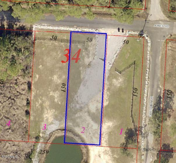 Lot 2 Allen Dr, Pass Christian, MS 39571 (MLS #341126) :: Amanda & Associates at Coastal Realty Group