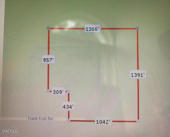 0 Trail End Rd, Saucier, MS 39574 (MLS #344589) :: Amanda & Associates at Coastal Realty Group
