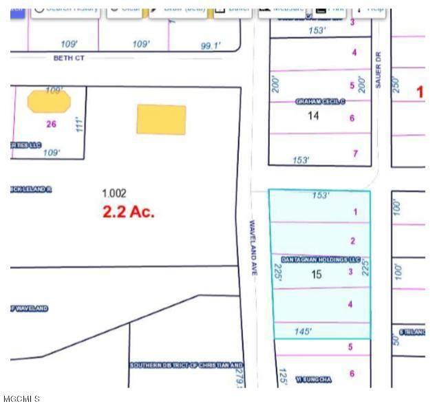 0 Waveland Ave, Waveland, MS 39576 (MLS #363700) :: Berkshire Hathaway HomeServices Shaw Properties