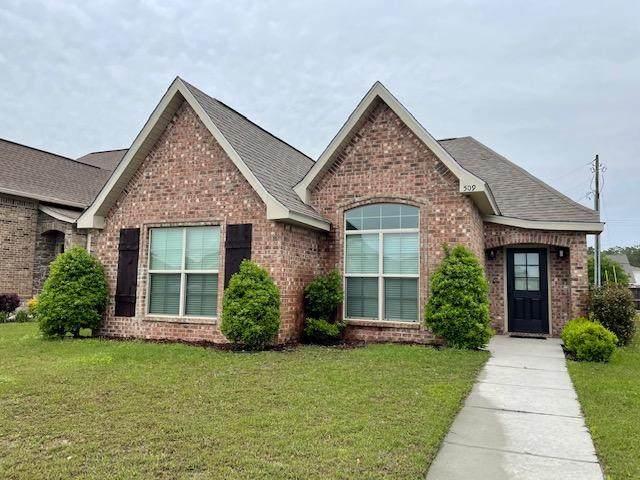 509 Palm Breeze Dr, Ocean Springs, MS 39564 (MLS #373671) :: Berkshire Hathaway HomeServices Shaw Properties