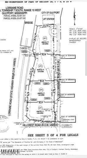 0 Old Lorraine, Gulfport, MS 32507 (MLS #378531) :: Coastal Realty Group