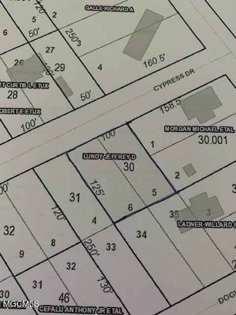 0 Cypress Dr, Kiln, MS 39556 (MLS #379406) :: The Sherman Group