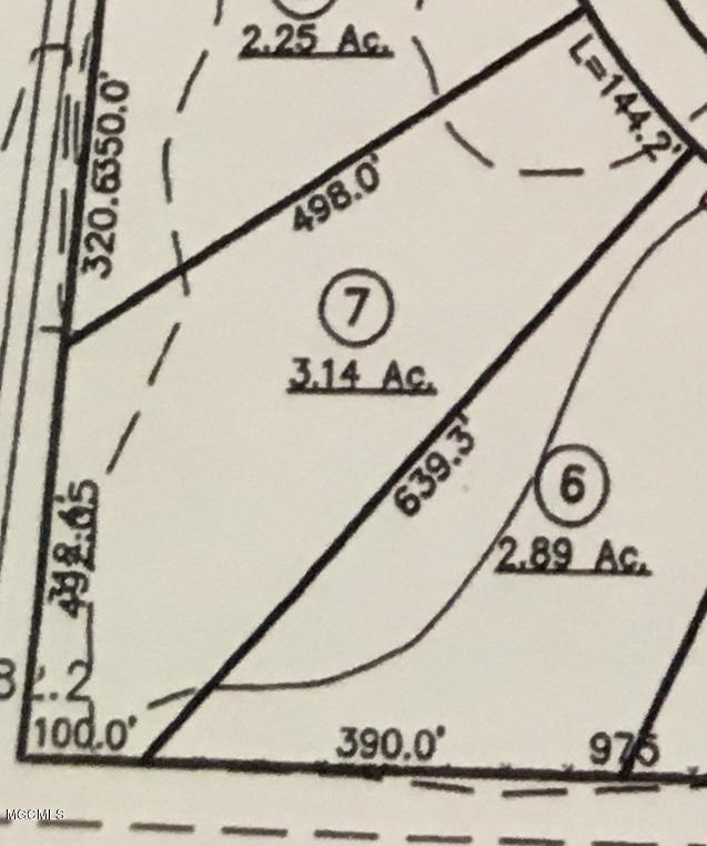 Lot 7 Menge / Interstate 10, Pass Christian, MS 39571 (MLS #339929) :: Amanda & Associates at Coastal Realty Group