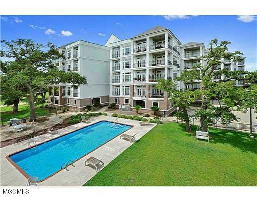 1100 W Beach Blvd #407, Pass Christian, MS 39571 (MLS #347658) :: Coastal Realty Group