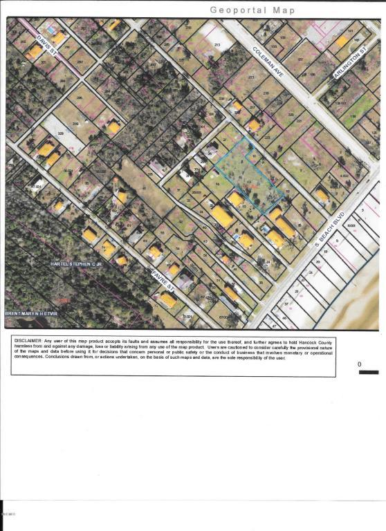 000 St Joseph St, Waveland, MS 39576 (MLS #332289) :: Amanda & Associates at Coastal Realty Group