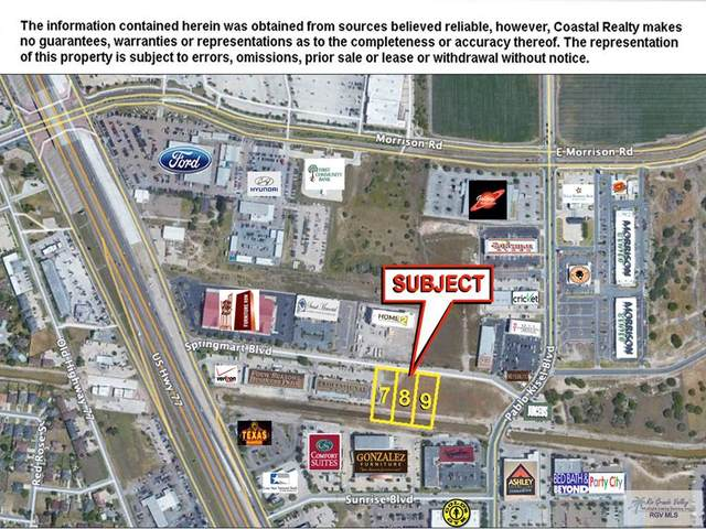 - Springmart Blvd. Lots 7, 8, & 9, Brownsville, TX 78520 (MLS #29723691) :: The MBTeam