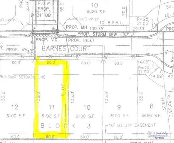 11 E Barnes Ct., Primera, TX 78552 (MLS #29725271) :: The MBTeam