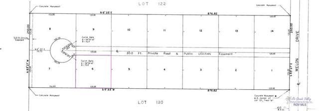 BLK 6 Melon Dr. Blk 6, Los Fresnos, TX 78566 (MLS #29728870) :: The MBTeam