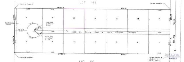 BLK 10 Melon Dr. Blk 10, Los Fresnos, TX 78566 (MLS #29728874) :: The MBTeam