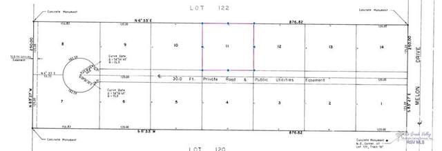 BLK 11 Melon Dr. Blk 11, Los Fresnos, TX 78566 (MLS #29728875) :: The MBTeam