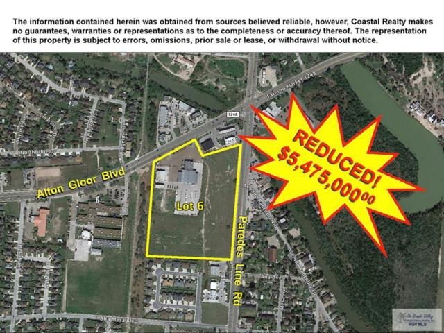 0 Paredes Line Rd. Lot 6, Brownsville, TX 78523 (MLS #29632487) :: The Monica Benavides Team at Keller Williams Realty LRGV