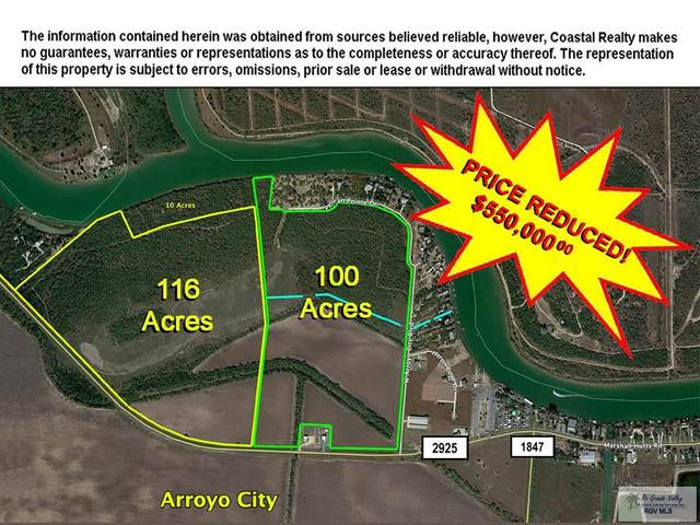 - Fm 2925 100 Acres, Arroyo City, TX 78583 (MLS #29722796) :: The MBTeam