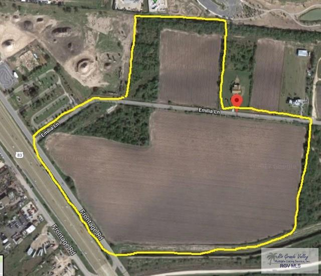 56.7 ac Emilia Ln., Brownsville, TX 78526 (MLS #29709737) :: The MBTeam