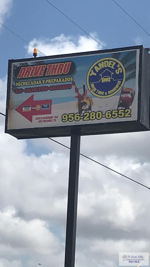 36620 State Highway 100 Drive-Thru, Los Fresnos, TX 78566 (MLS #29711088) :: The Martinez Team
