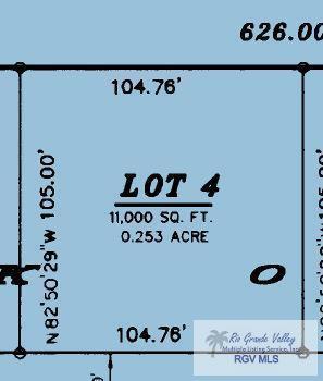 L4 Blk1 Carmen Ave., Rancho Viejo, TX 78575 (MLS #29713711) :: The Monica Benavides Team at Keller Williams Realty LRGV