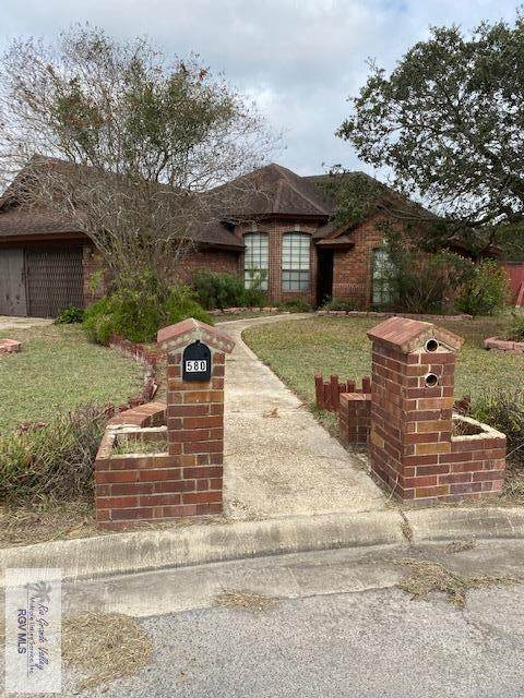 580 Geraldine Ln., Brownsville, TX 78526 (MLS #29726595) :: The MBTeam