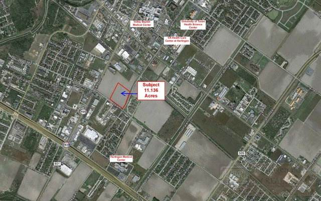 0 NW Hale Ave. & Camelot, Harlingen, TX 78550 (MLS #29729461) :: The MBTeam