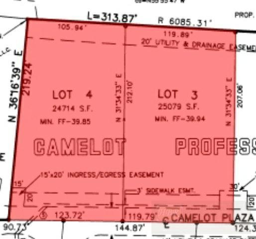 Lot Camelot Plaza Cir. #3, Harlingen, TX 78550 (MLS #46834) :: The Monica Benavides Team at Keller Williams Realty LRGV