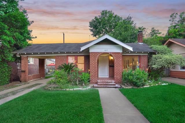 1617 Hawthorne Street, Houston, TX 77006 (MLS #10005482) :: The Property Guys
