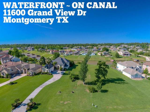 11600 Grand View Drive, Montgomery, TX 77356 (MLS #10403119) :: The Bly Team