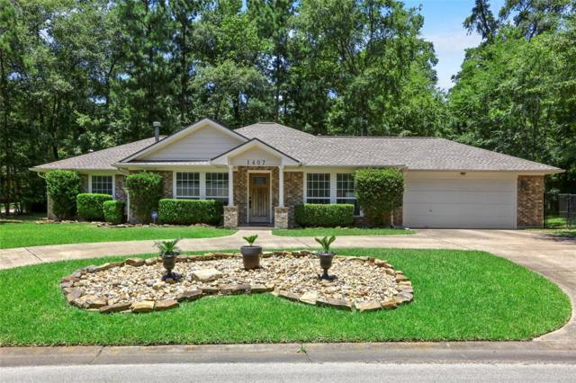 1407 Wimbledon Drive, Huntsville, TX 77340 (MLS #10428680) :: The Heyl Group at Keller Williams