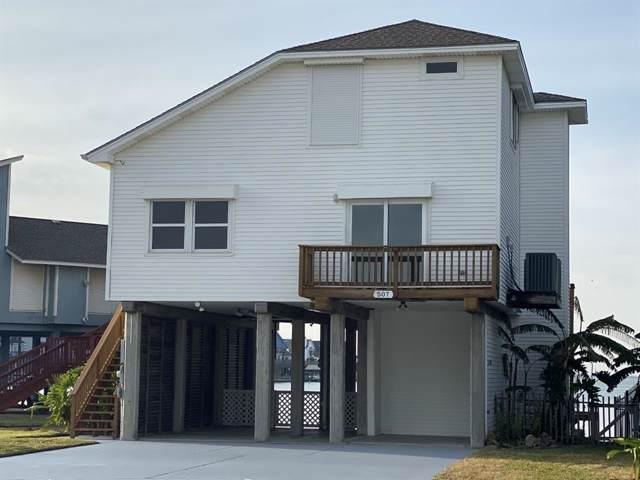 507 Bora Bora Drive, Tiki Island, TX 77554 (MLS #10465166) :: Texas Home Shop Realty