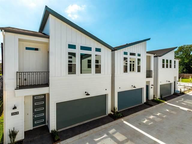 502 W Donovan Street J, Houston, TX 77091 (MLS #10475282) :: My BCS Home Real Estate Group