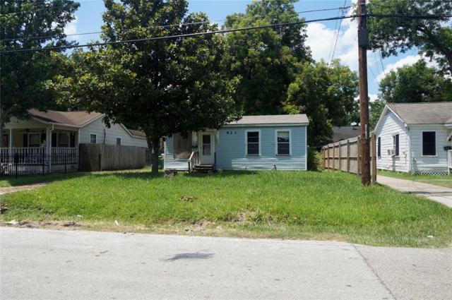 921 Moody Street, Houston, TX 77009 (MLS #10497218) :: The Heyl Group at Keller Williams